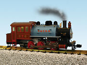 Usa Trains G Scale R20061 Dockside 0-6-0t Steam Locomotive Virginia And Truckee 7