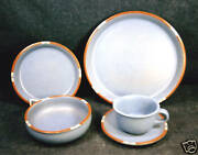 20-pieces Or Less Of Dansk Mesa Pattern Sky Blue China/dinnerware