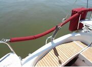 Set Of 2@ 75 Sunbrella Life Line Covers Sailboat Life Line Covers Hook And Loop