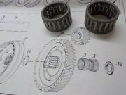 Aermacchi Sprint New Old Stock 1969 Up Clutch Roller Bearing 9078