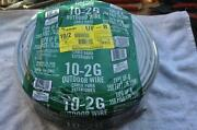 Kalas Type Uf-b 10/2 Underground Feeder Cable W/ground 250 Ft Usa New Southwire