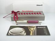 2015 Special Edition Pink White Pelikan M600 Fountain Pen 14k