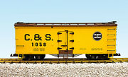 Usa Trains G Scale R16021a/b Colorado And Southern Choiceyellow/bc Red New Release