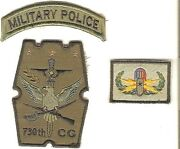 Philippines Air Force Paf 730th Combat Group Military Police Tab And Eod Badge