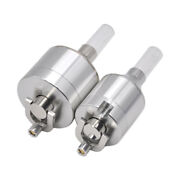 Ounona Metal Powder Spice Grinder Hand Mill Funnel With Snuff Glass Bottle