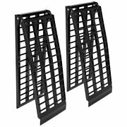 Black Widow Bw-9417-hd-2 Aluminum 7and039 10 Arched Folding Atv Ramps