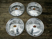 1-2-3 Or 4 Chrysler Imperial Hubcaps Make An Offer On Just The You Need