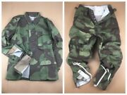 Size M Outdoors Wwii Ww2 German Army M43 Italian Camo Field Tunic And Trousers