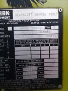 Clark Forklift Np300 30d Narrow Isle Electric Has Side-shift Needs New Battery