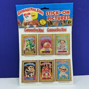 Garbage Pail Kids Vintage 1985 Imperial Toy Stick On Puffy Picture Sticker Vtg 1