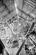 Poster, Many Sizes 22. Leaching Plant, Framing Of Roof Kennecott Copper Corpora