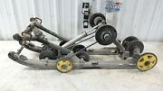 07 Skidoo Mxz 600 Blizzard Snowmobile Rear Back Suspension Undercarriage Guides