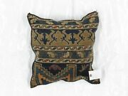 Pillow W/antique Rug Fragment 1and0394 X 1and0394