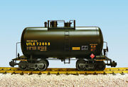 Usa Trains G Scale Beer Can Tank Car R15202 Utlx Black, Yellow Printing