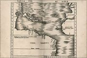 Poster, Many Sizes Map Of West Indies Cuba Florida 1513