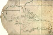 Poster, Many Sizes Map Of Caribbean With West Indies Cuba Florida Gulf Of Mexic