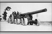 Poster Many Sizes Bl 7.5 Inch Mk Iii Naval Gun Moving Into Position Flanders
