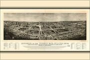 Poster, Many Sizes Panorama Map Of The World's Fair, St Louis, 1904