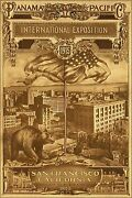 Poster, Many Sizes Panama Pacific International Exposition 1915 San Francisco