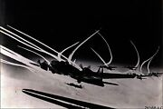 Poster Many Sizes Boeing B-17f Flying Fortress 390th Bg Fighter Contrails 194
