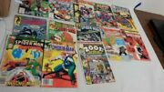 Vintage 11 The Mighty Thor And Spider Man Comics Marvel A Couple Rare Comic Books