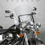 National Cycle Spartan Quick Release Windshield Medium Clear N21300 Mc Harley