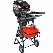 130lb 30hp Outboard Boat Motor Stand Carrier Cart Dolly Folding