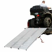 Tri-fold Atv Ramp With Punch Plate Surface
