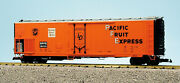 Usa Trains G Scale 50' Mechnanical Reefer R16711 Pacific Fruit Express-spfe-ora