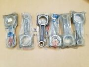 Maserati 3500 Gt Mistral Sebring Factory Nos Connecting Rods New Rod Set Of 6