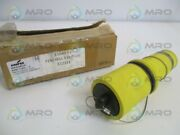 Cooper A201100-2 Yellow Female Plug Insulator As Pictured New In Box