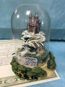 The Unicorn's Land Of The Rainbow--franklin Mint Domed------1-------------ss