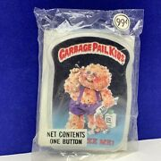 Garbage Pail Kids Vtg 1986 Imperial Toy Sealed Button Pinback Pin Squeeze Me Pop