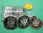 2008 S 90 Silver Proof Kennedy Half Dollar Roll 20 Coins 50c From Us Proof Sets