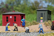 Piko 62113 Utility Buildings, Building Kit G-scale