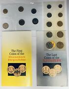 Last Coins Of Ussr / First Coins Of The Russian Republic Set - 1968/1992