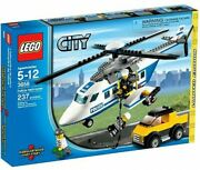 Lego City Police Helicopter Exclusive Set 3658