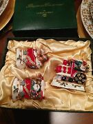 Dept.56 Bejeweled Collection Christmas Train Set Of 3