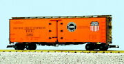Usa Trains G Scale 16506d 40' Reefer Car Pac Fruit Exp - Sp And Up Set 4/4 Cars