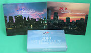 2010 Proof And Uncirculated Annual Us Mint Coin Pds 42 Coins Two Sets