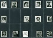 Myers And Metreveli Gum - Film Stars 1st And 2nd Series - Pick Your Card