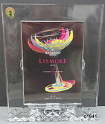 Waterford Lismore Essance 5 X 7 Slovenia Crystal Picture Frame - New In Box