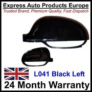 Left Wing Mirror Cover Housing Skoda Superb To 2008 Painted Black