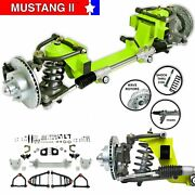Mustang Ii Ifs Kit Power Steering Rack For 49-54 Ford Shoebox Front Suspension