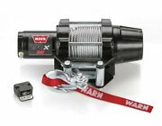 Warn Vrx 3500lb Atv Winch Complete Kit For Yamaha 2016-2019 Grizzly 700 4x4