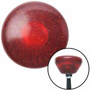 Red Retro Series Custom Shift Knob Translucent With Metal Flake Muscle Cars
