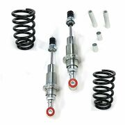 Mustang Ii Ifs Front End Pro Coil-over Kit Fits Qa1 Qa-1 Components Rat Rods
