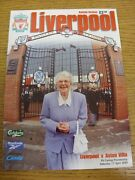 17/04/1999 Liverpool V Aston Villa . We Try And Inspect All Our Items And List