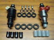 1983 - 1991 Toyota Camry 2.0l Fuel Injector O-ring Seal Filter And Pintle Cap Kit