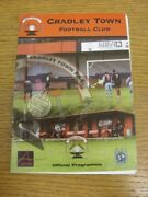 11/08/2009 Cradley Town V Westfields . Thanks For Viewing This Item Available F